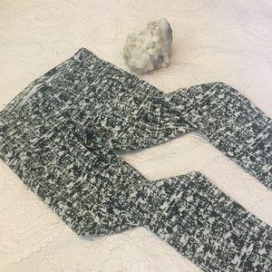 AG Jeans • the Legging • Black and White Corduroy